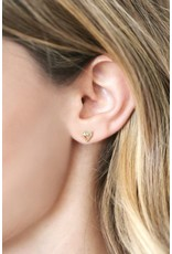 Katie Dean Jewelry Love Triangle Studs