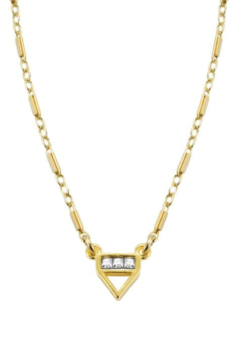 Katie Dean Jewelry Love Triangle Necklace