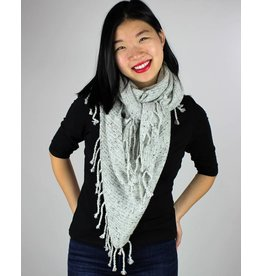 Drop Needle Tri Scarf - Multi Colors