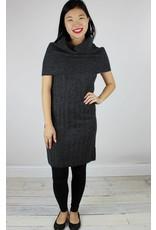 Quinn Rose Over the Shoulder Dress - Coal Mouline