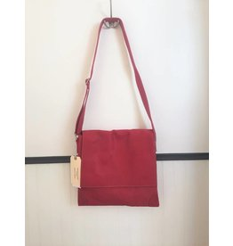 Fredd & Basha Cambridge Messenger Bag - RED