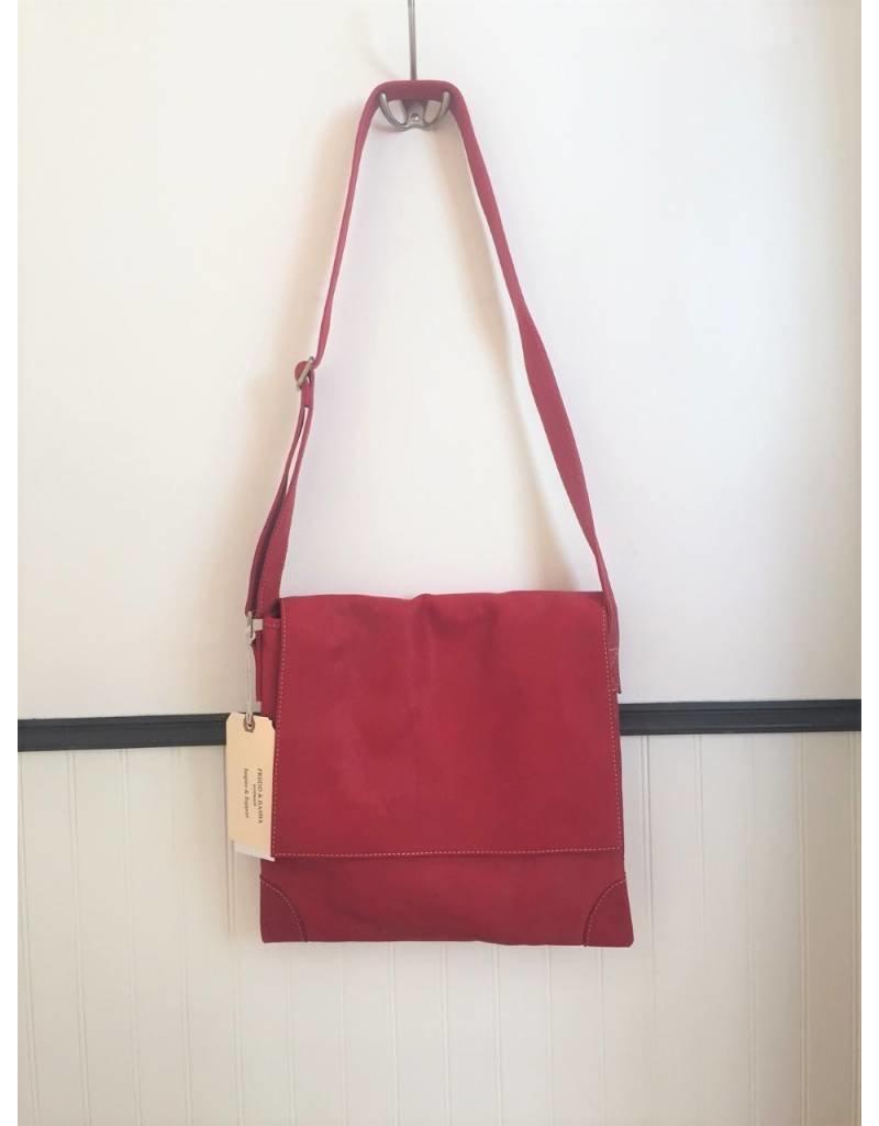 Fredd & Basha Cambridge Messenger Bag - RED