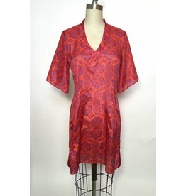Sarah Bibb Kimmy V-Dress - Medallion