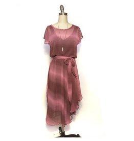 Sarah Bibb Nora Dress  - Pink Stripe