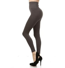 M Rena Tummy Tuck Leggings by M Rena - Dark Grey