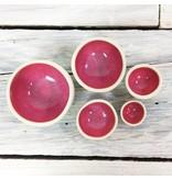 Mini Nesting Bowls - Pink