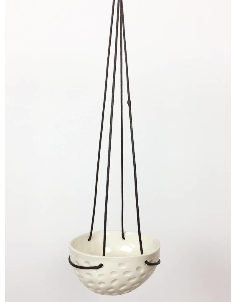 Medium Hanging Bowl - Textured