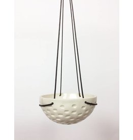 Large Hanging Bowl - Textured