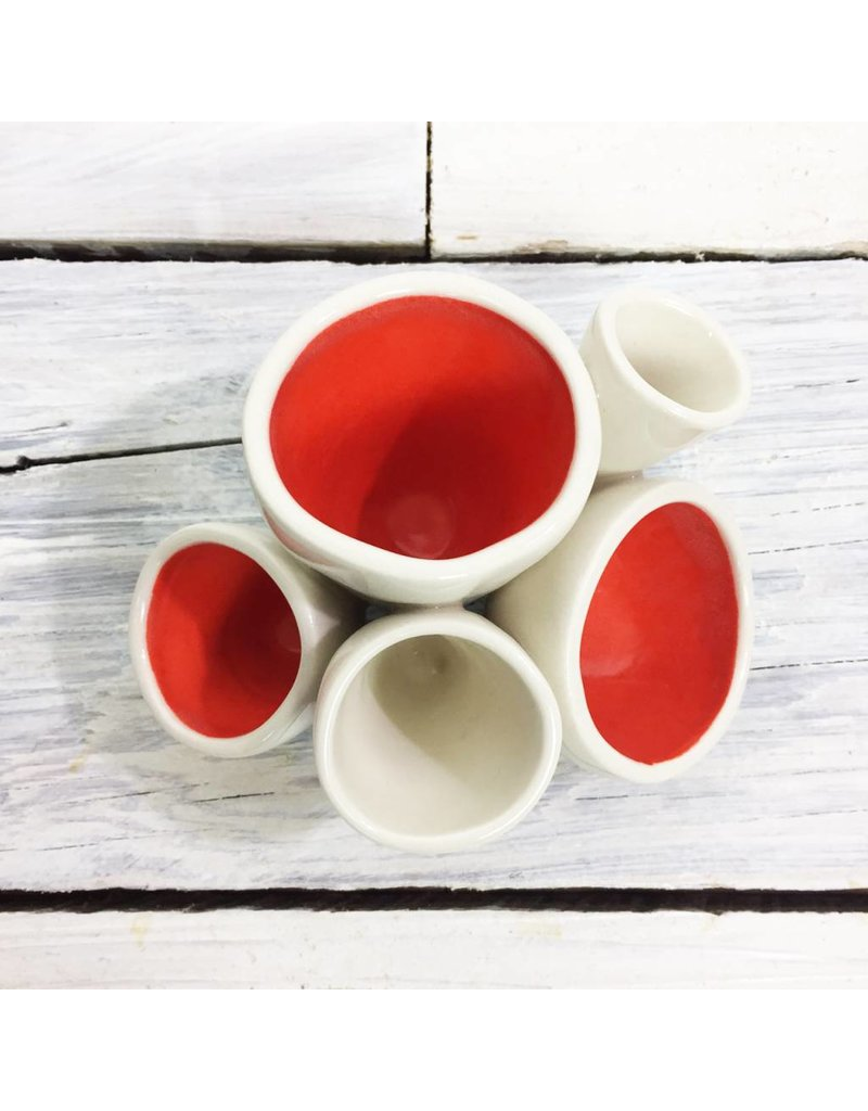Ceramic Pods - Orange