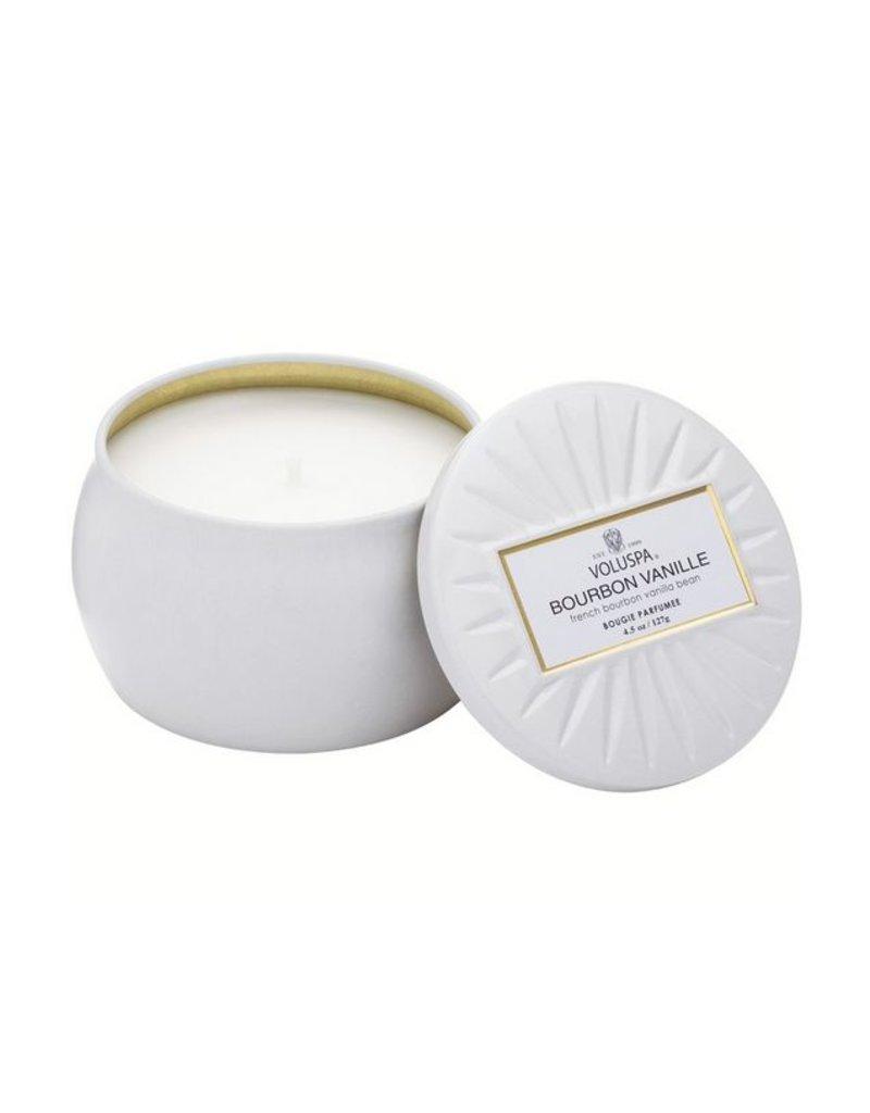 Voluspa Mini Tin - Bourbon Vanille