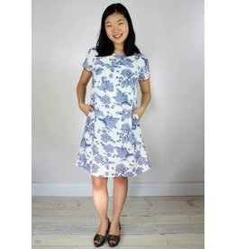 Traffic People Wishing Dress - Sweety Floral