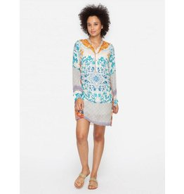 Johnny Was Placket Tunic Dress - Ellyonora