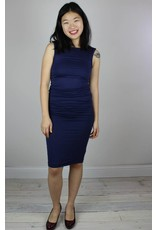 Bishop + Young Mia Bodycon Dress - Deep Blue