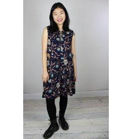 Bishop + Young Kyra Sleeveless Dress - Navy Floral