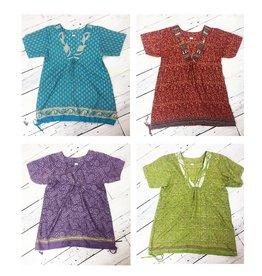 St.U Sari V-Neck Tunic - Multi Color