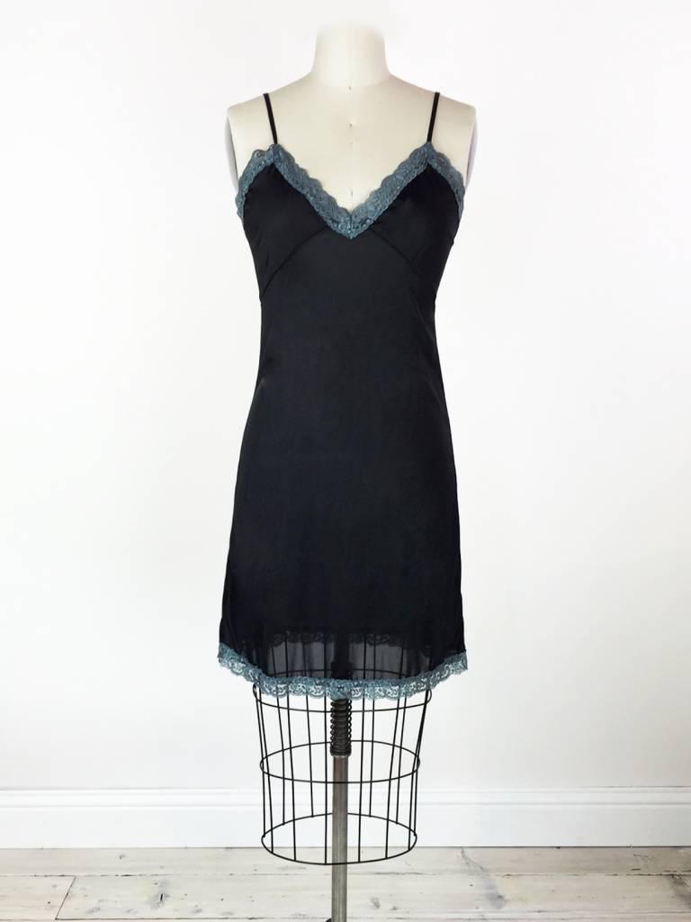 Sarah Bibb Erin Slip by Sarah Bibb - Black/Blue