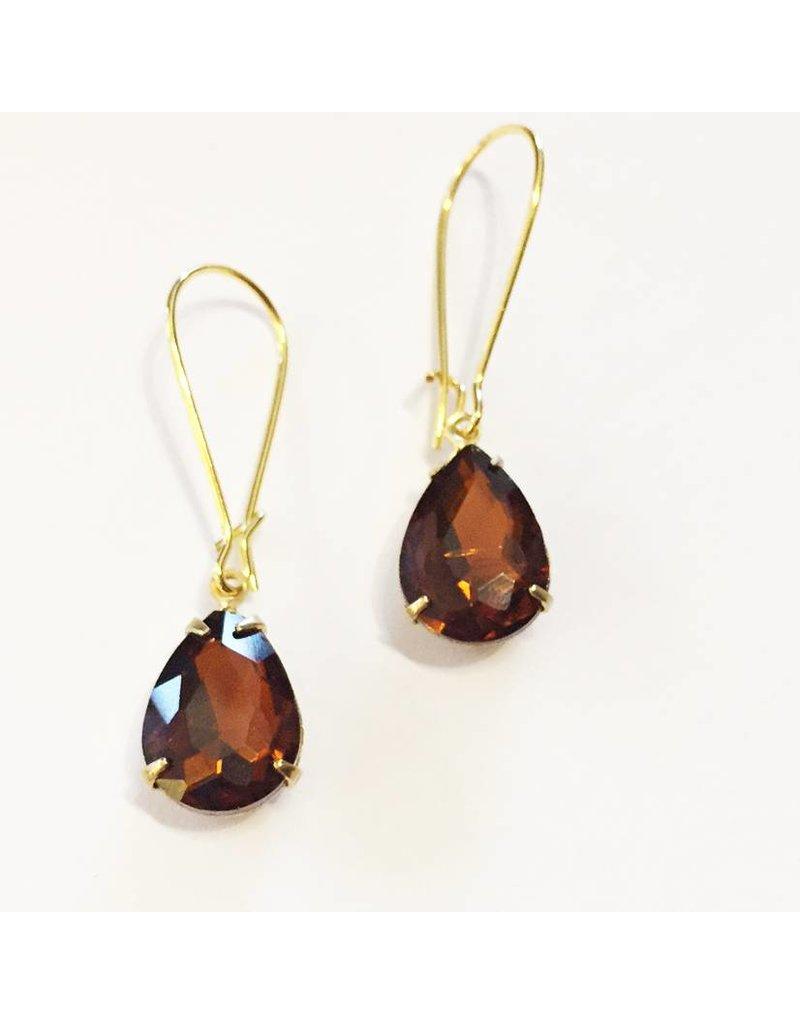 Nicole Weldon Sparkle Dangle Earrings