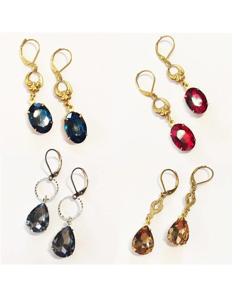 Filigree Sparkle Earrings