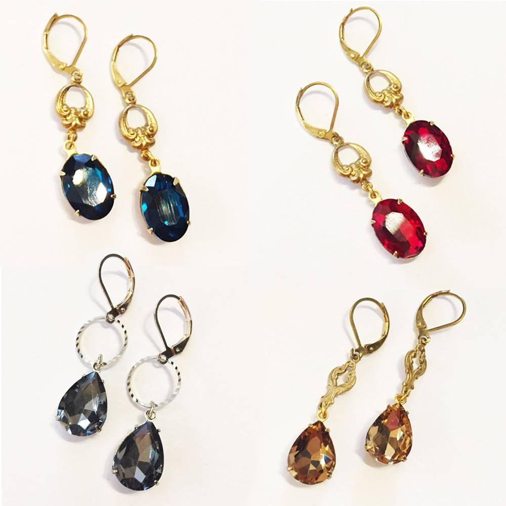 Nicole Weldon Filigree Sparkle Earrings