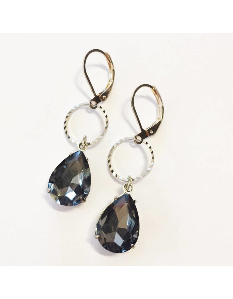 Nicole Weldon Filigree Sparkle Earrings