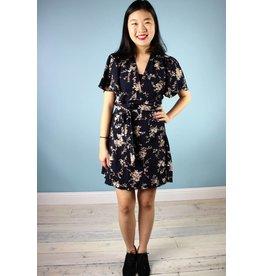 Flair Guinevere Wrap Dress - Flora
