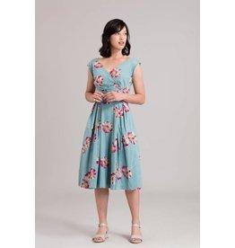 Emily & Fin Florence Dress - Blue Gerber