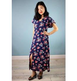 Sarah Bibb Tez Maxi Dress - Blue Floral