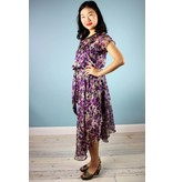 Sarah Bibb Nora Dress  - Purple Flower