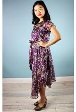 Sarah Bibb Nora Dress  - Purple Flower