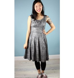 Alyson Clair CON Unicorn Dress - Silver Lace