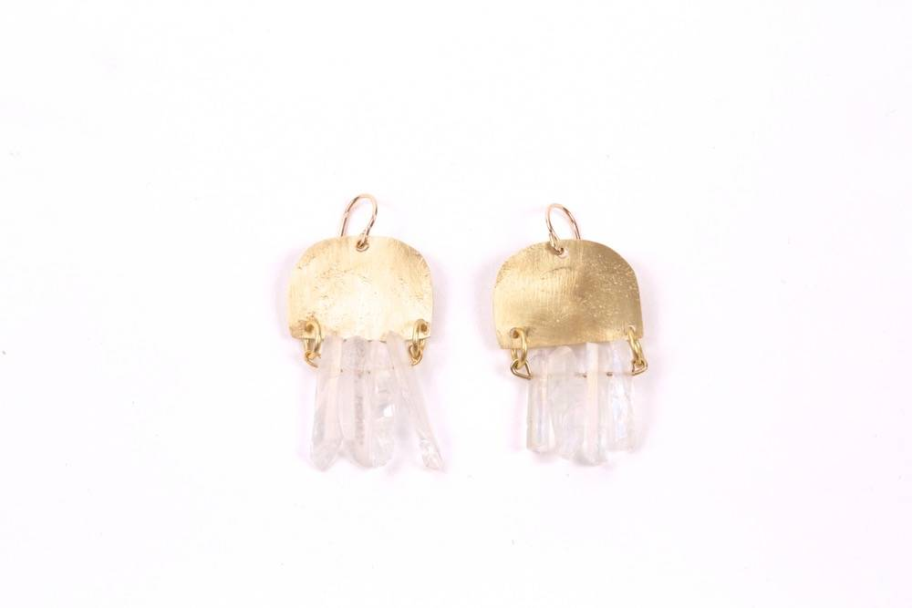 West Native Shada Earrings - Clear