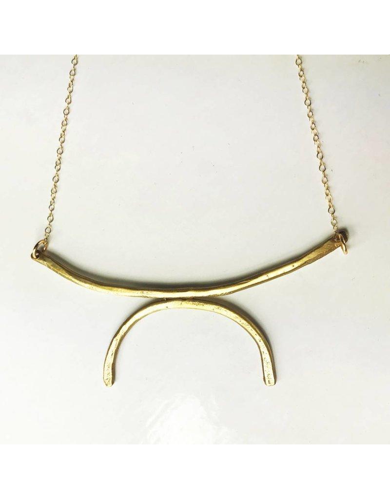 West Native Retrograde Necklace