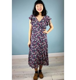 Cameo Ginny Wrap Dress - Flowery