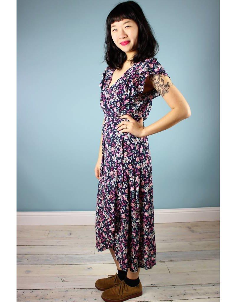 Cameo Ginny Wrap Dress - Flowery