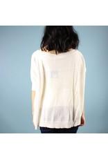 Quinn Halle Oversized - White