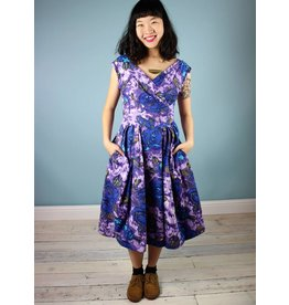 Emily & Fin Florence Dress - Purple Floral