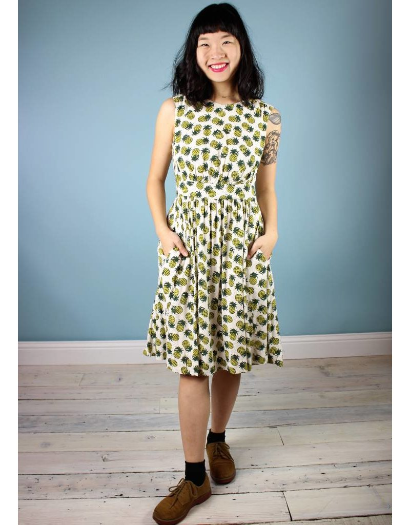 Emily & Fin Lucy Dress - Pineapple