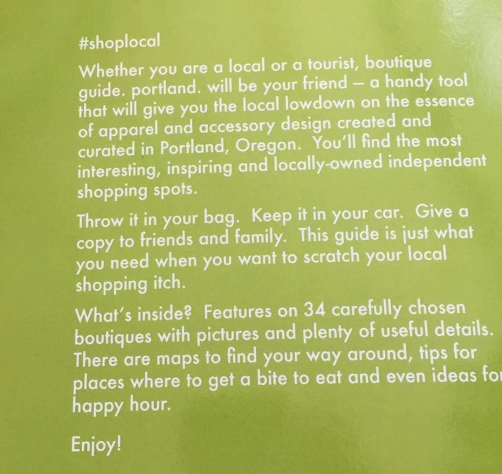 Boutique Guide Portland