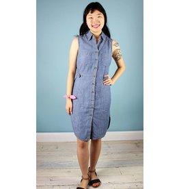 Level 99 Heather Sleeveless Dress - Jetty