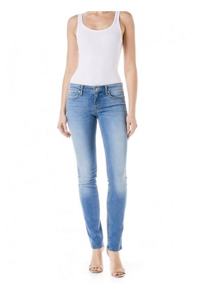 Level 99 Lily Skinny Straight - Water