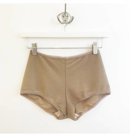 Cameo Hi Waist Brief - Nude Sparkle