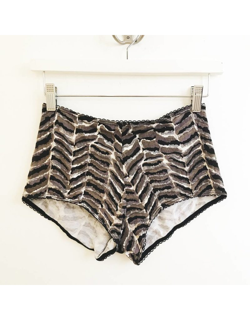 Cameo Hi Waist Brief - Animal
