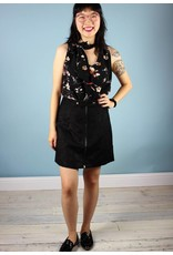 Bishop + Young Pepper Tie Top- Black Blossom