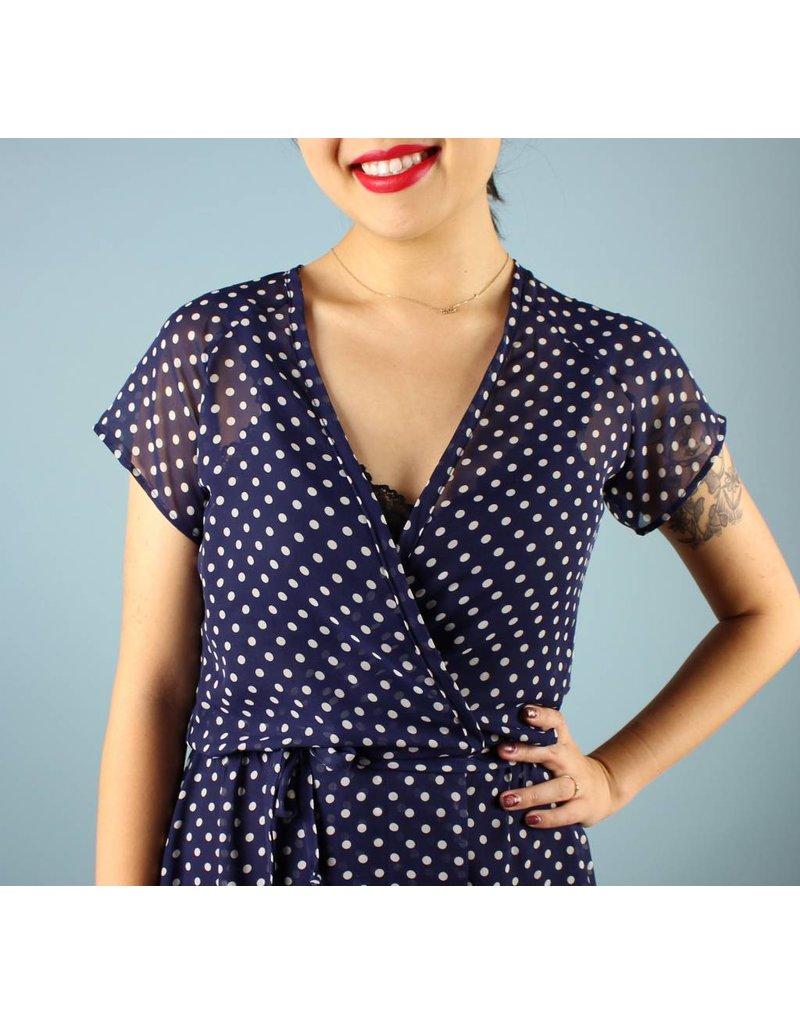 Sarah Bibb Emily Wrap Dress - Dottie