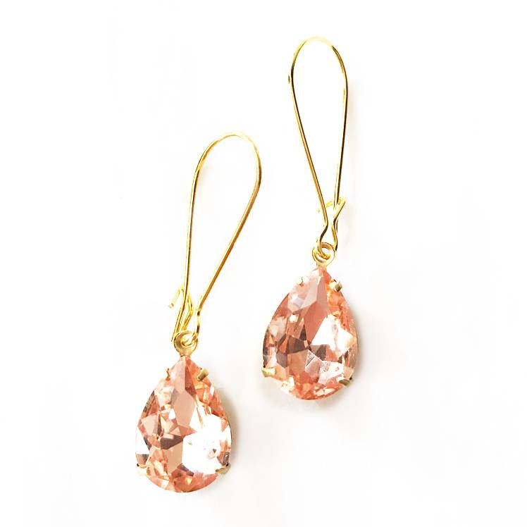 Nicole Weldon Sparkle Dangle Earrings