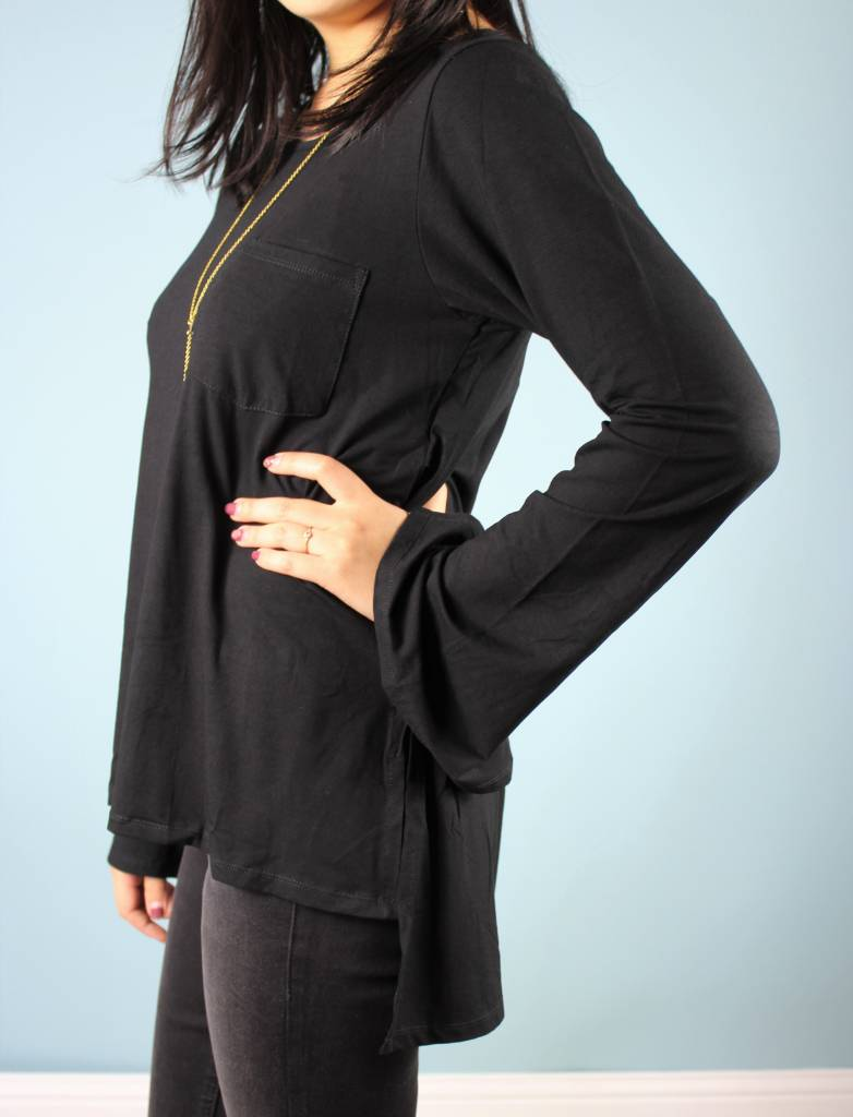 Bel Kazan Vivy Top - Black