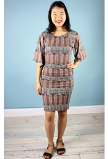 Bel Kazan Marin Dress - Woodgrain