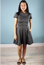 Sarah Bibb Cynthia Dress - Slate