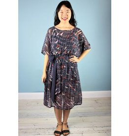 Sarah Bibb Fiona Dress - Armada