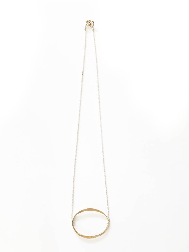 Kiersten Crowley Classic Oval Necklace